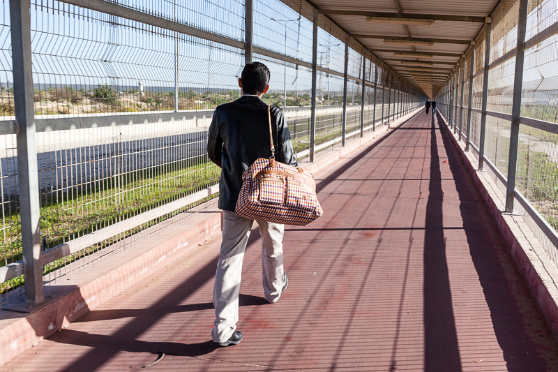 Erez Crossing. Photo by Eduardo Soteras Jalil