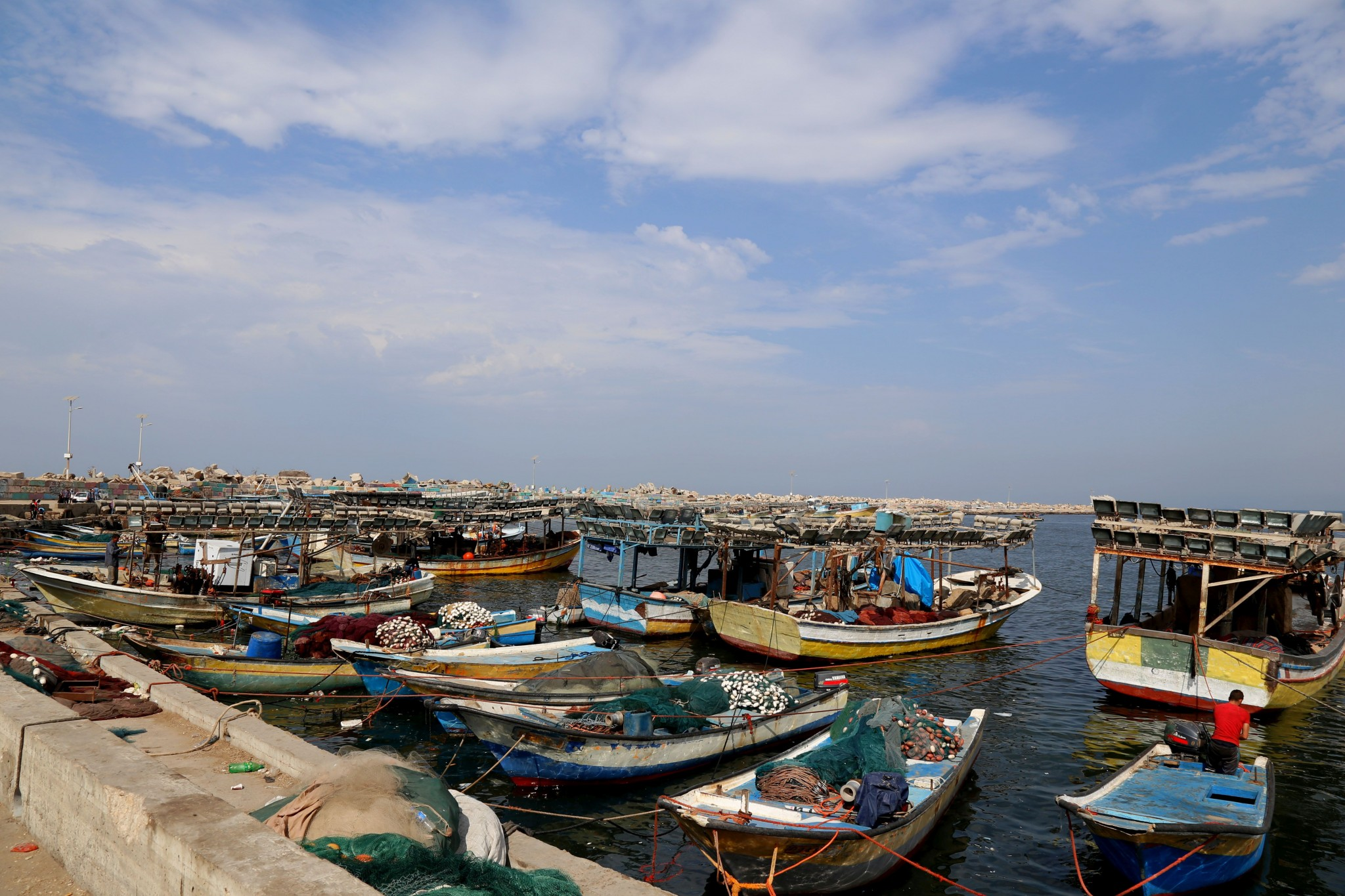 Gaza port. Photo by Gisha